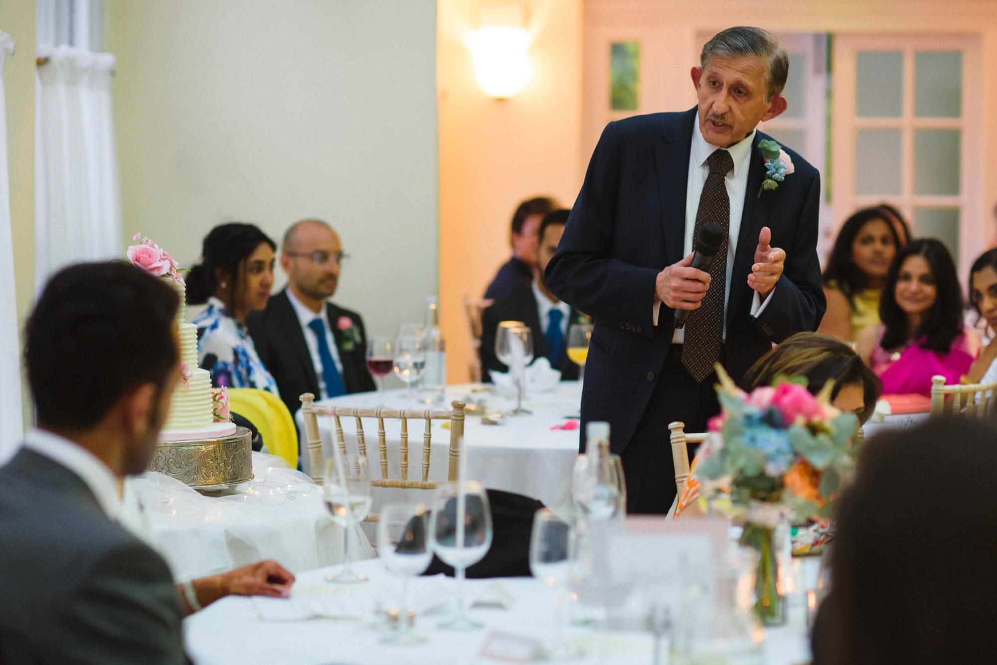 Pembroke lodge wedding speeches