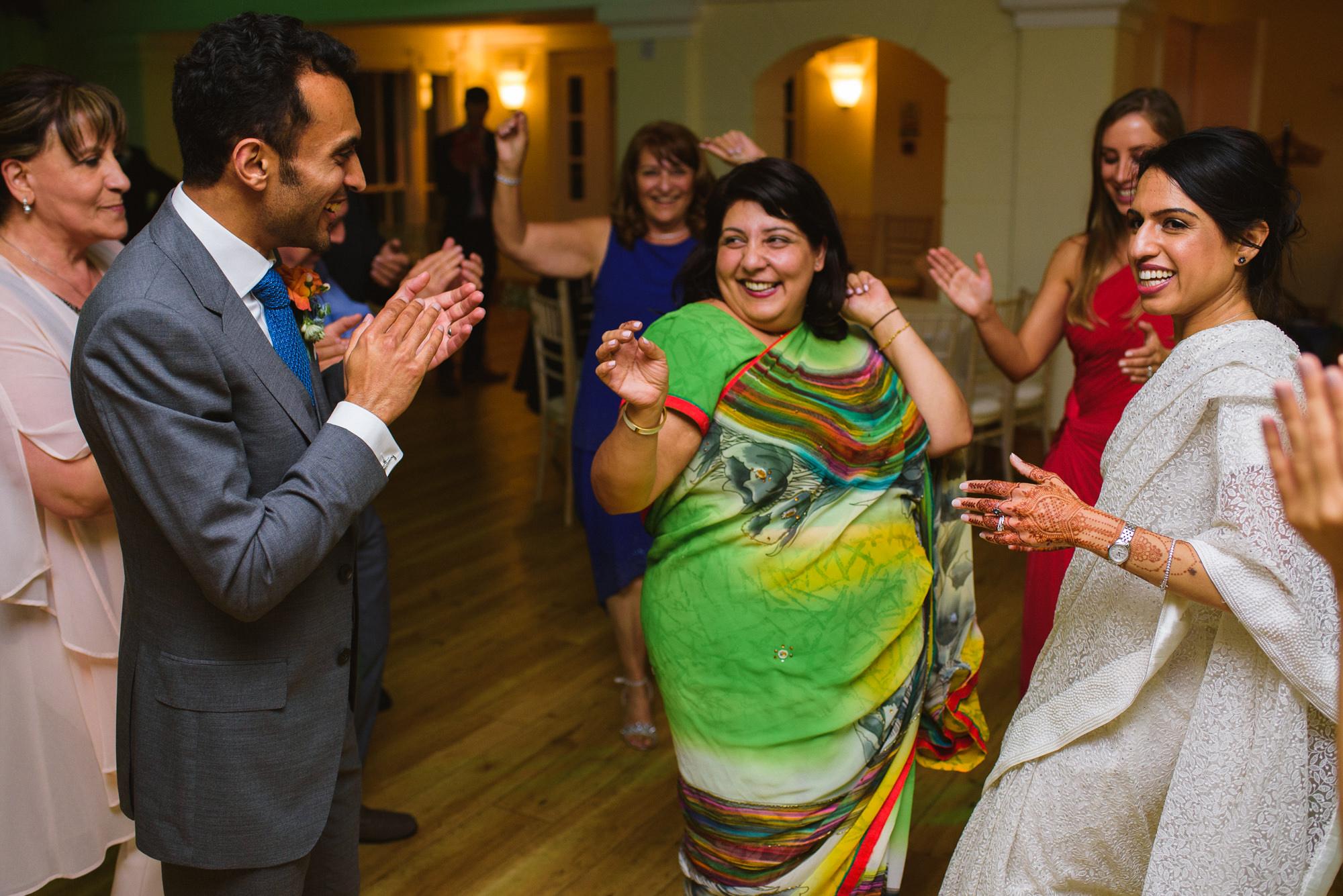 Pembroke lodge wedding celebration