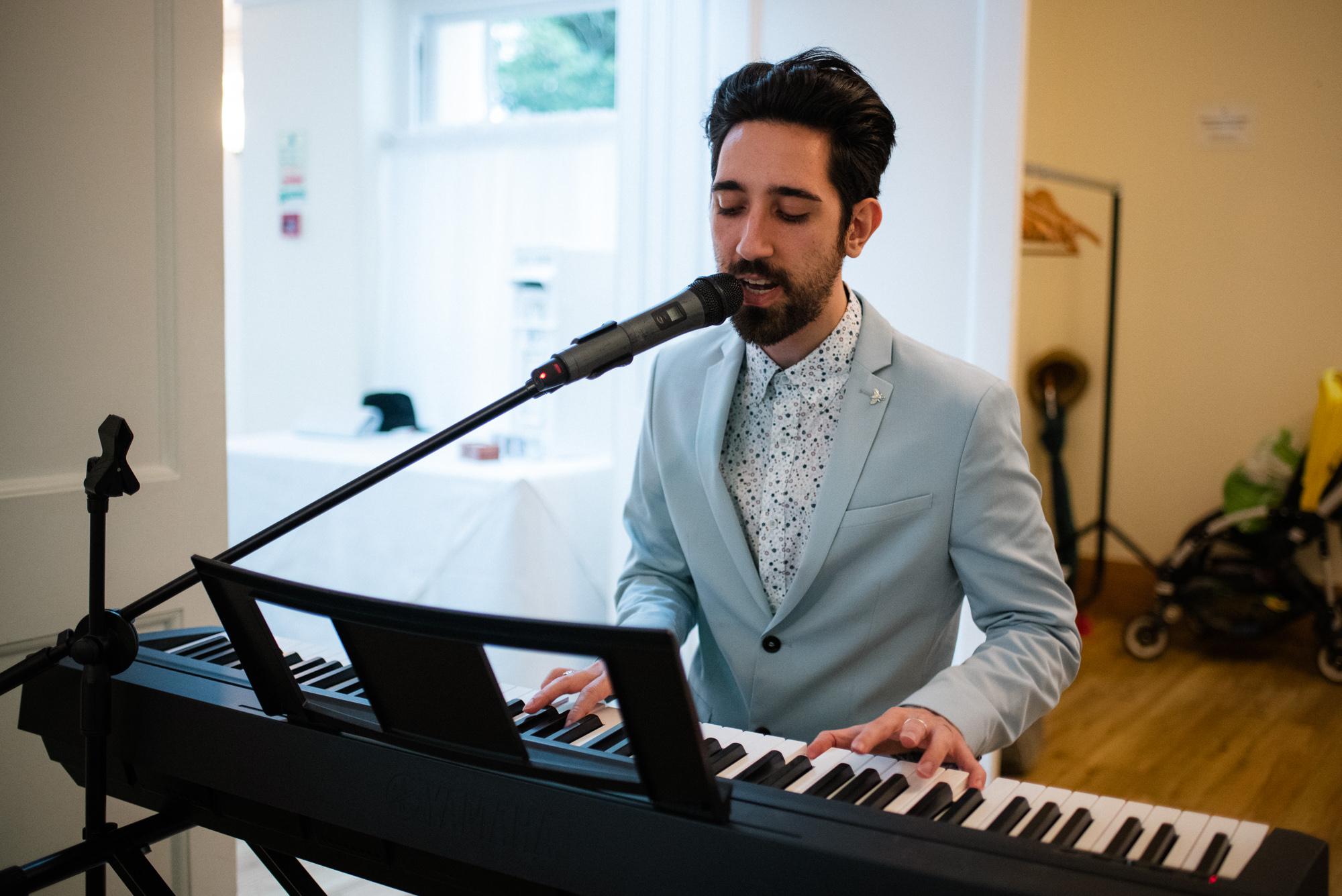 Pembroke lodge wedding musician
