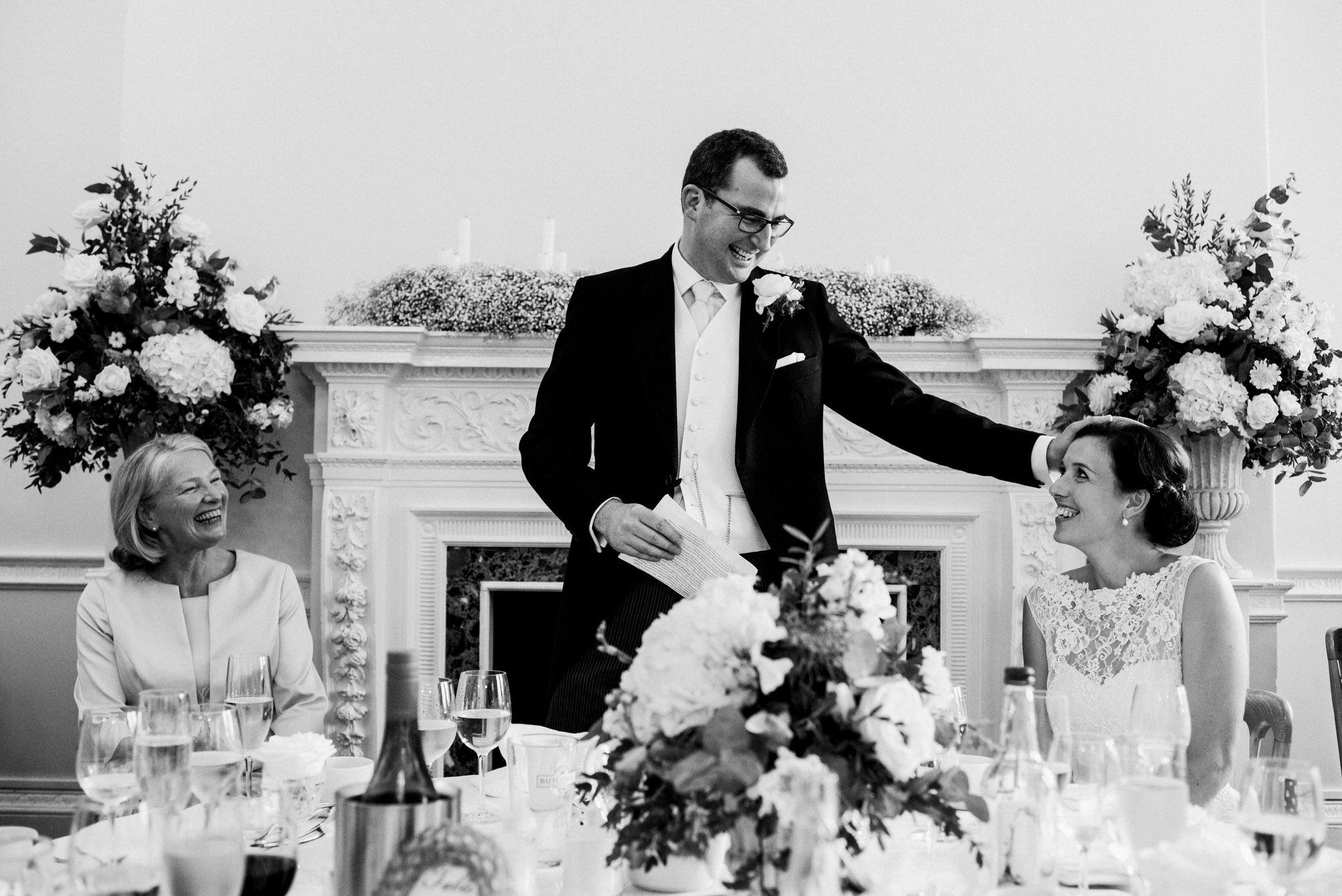 Kingswood school wedding reception