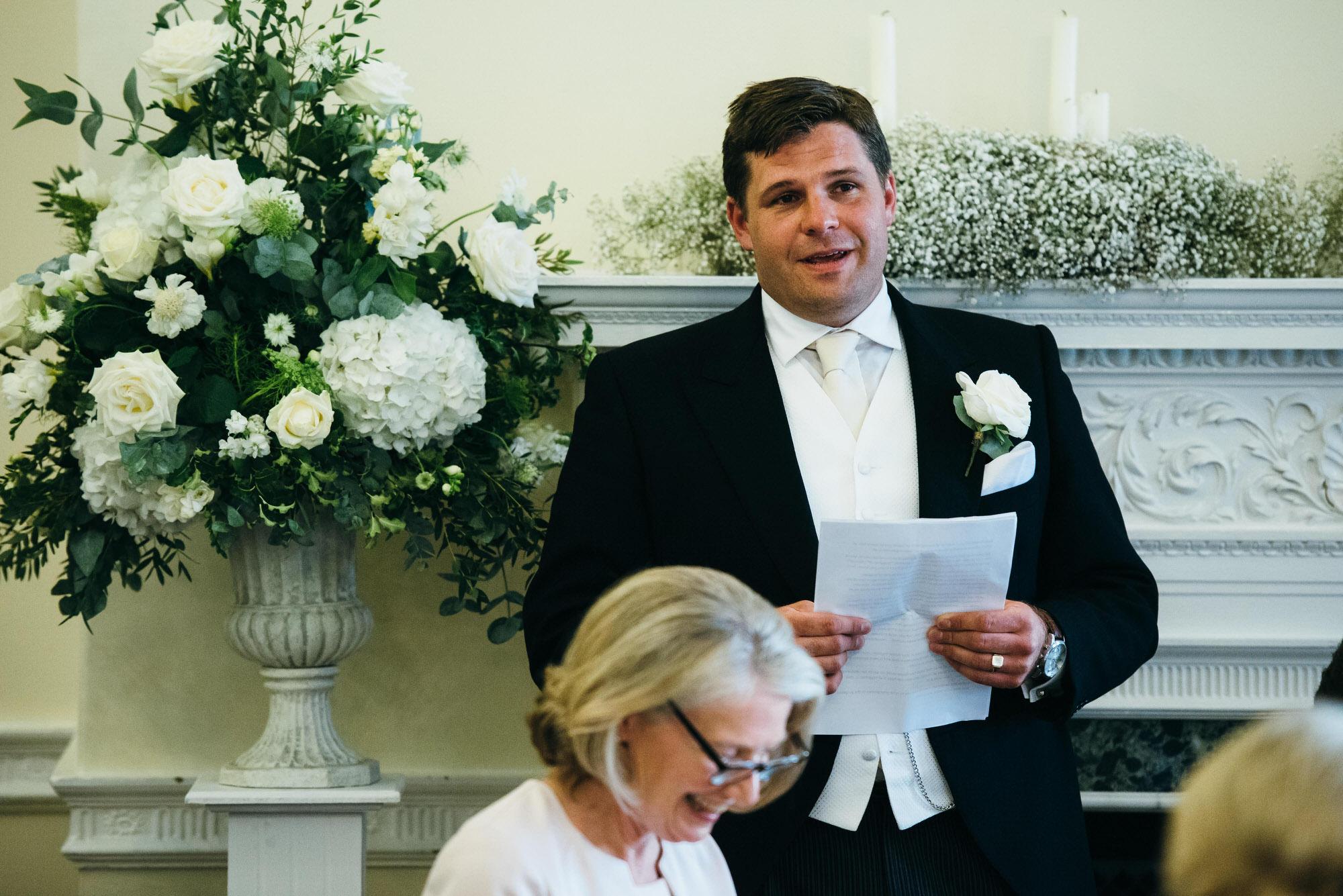 Kingswood school wedding speeches