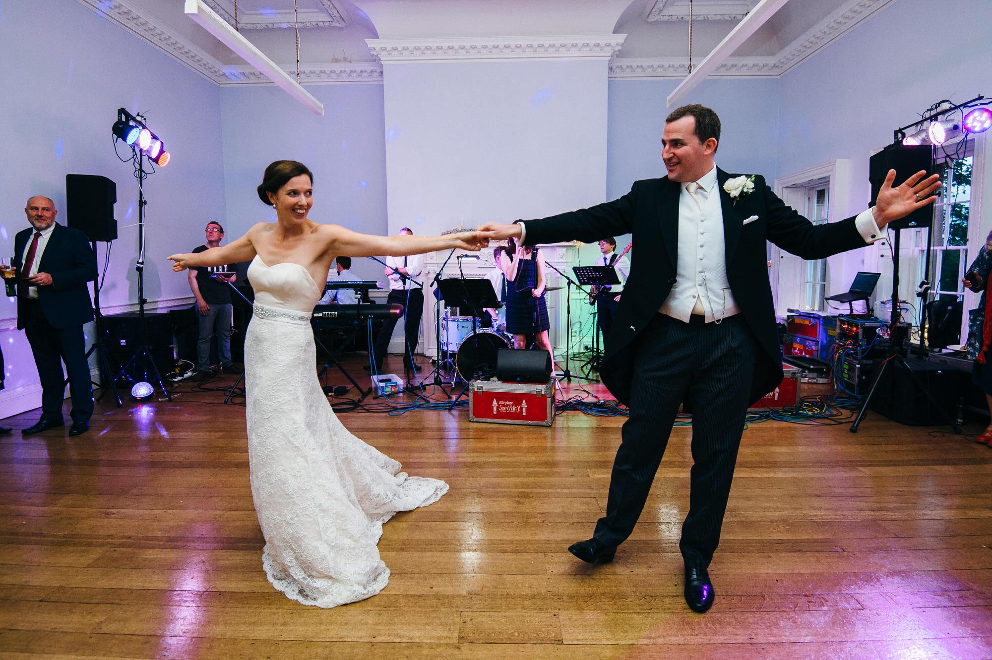 Kingswood school wedding first dance
