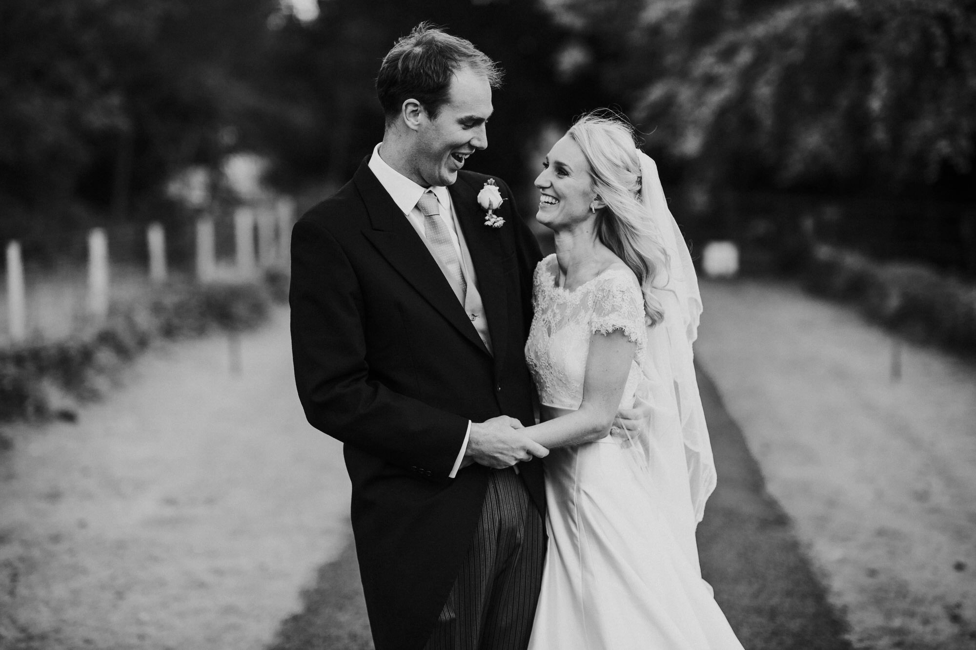 Crowcombe court newlyweds
