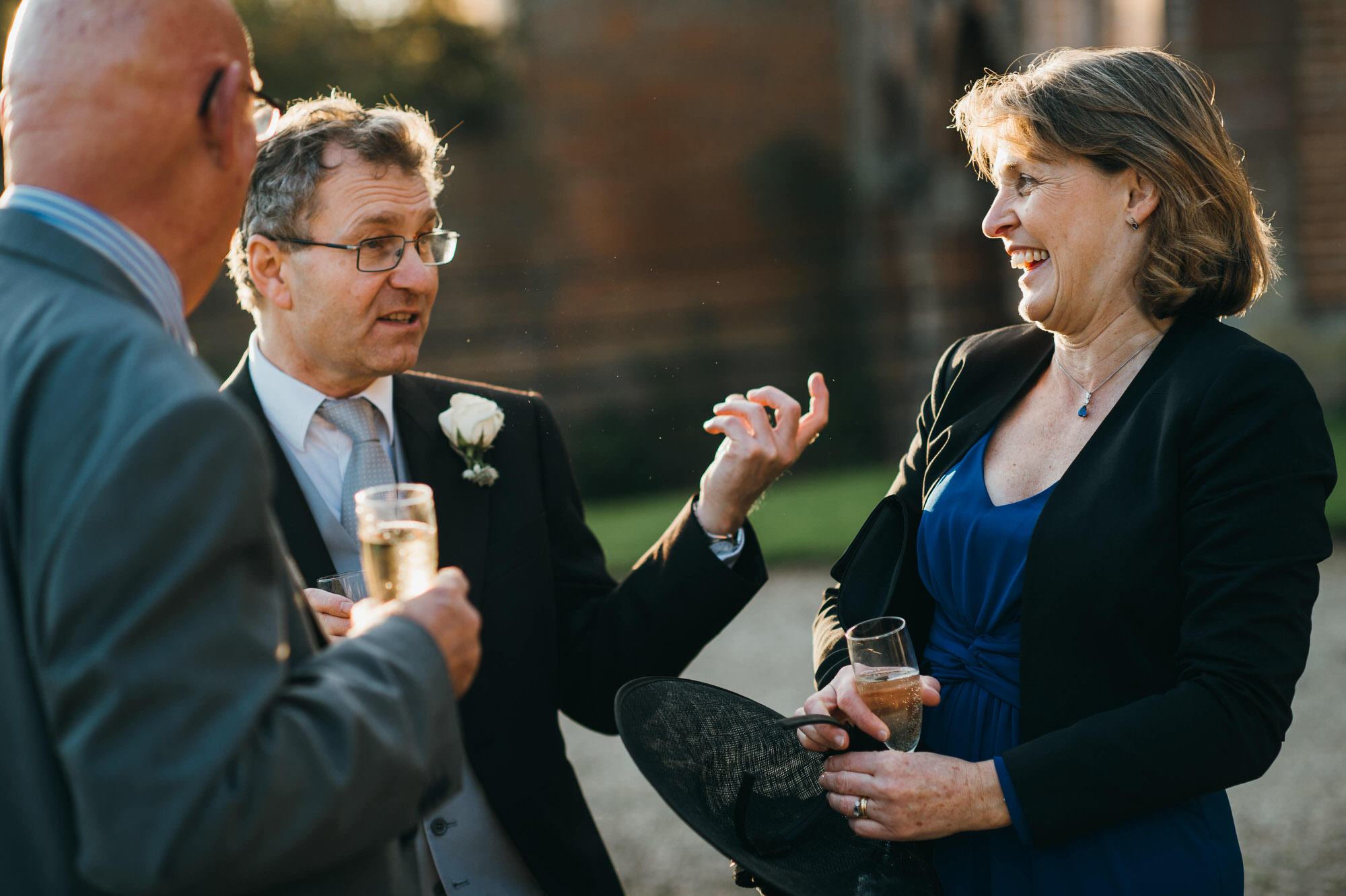 Crowcombe court drinks reception