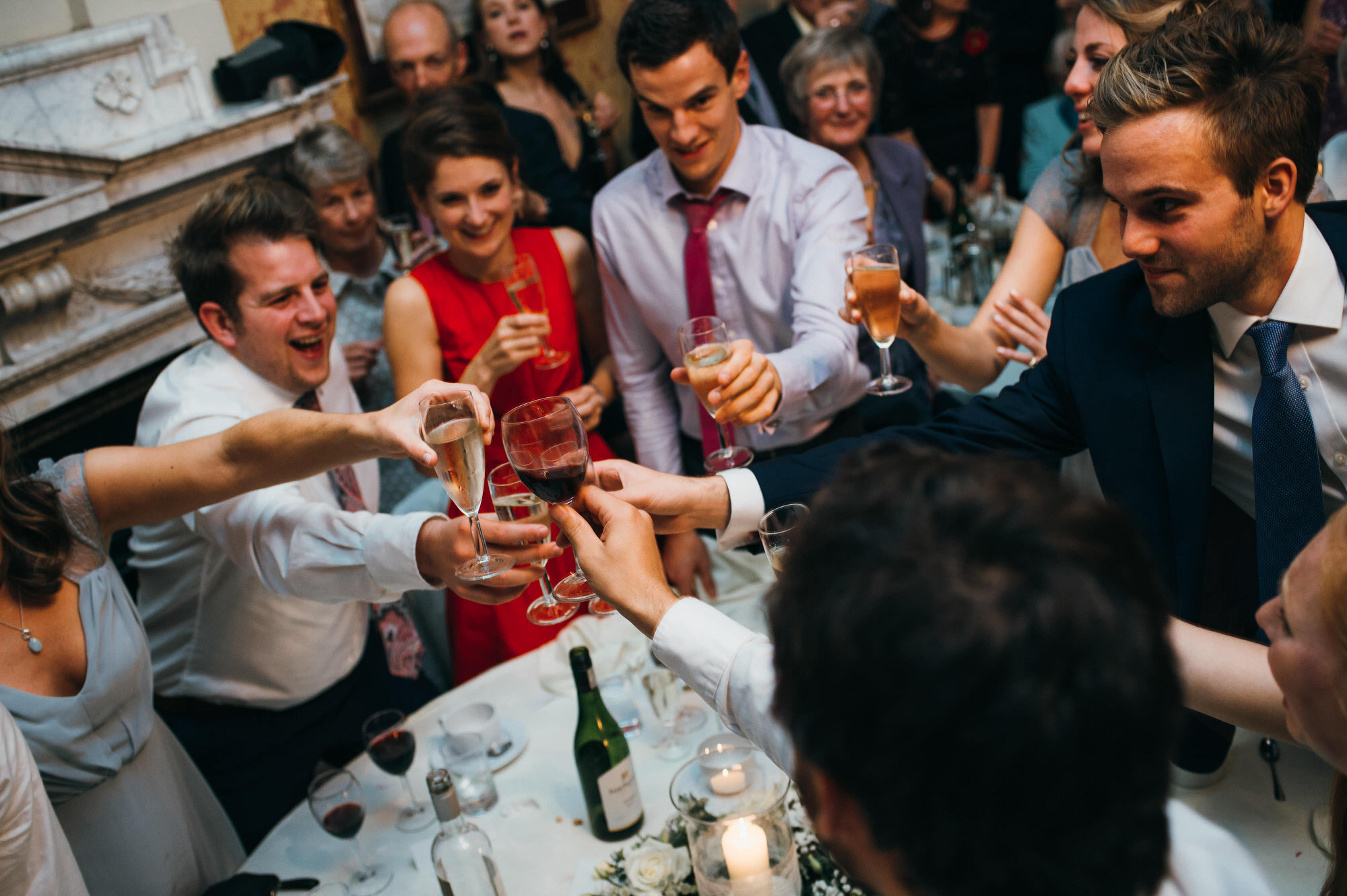 Crowcombe court wedding drinks