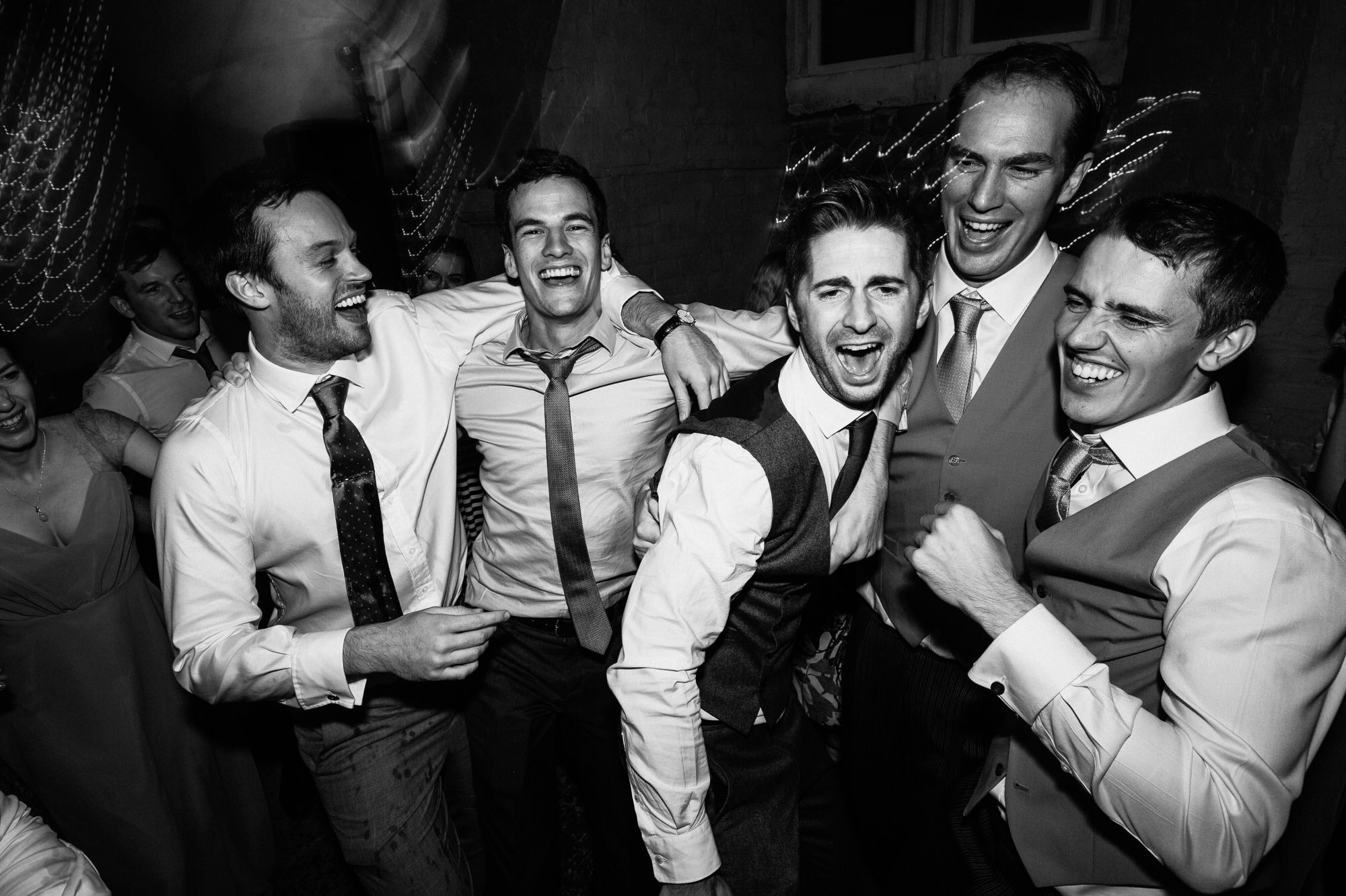 Dance at Crowcombe court wedding