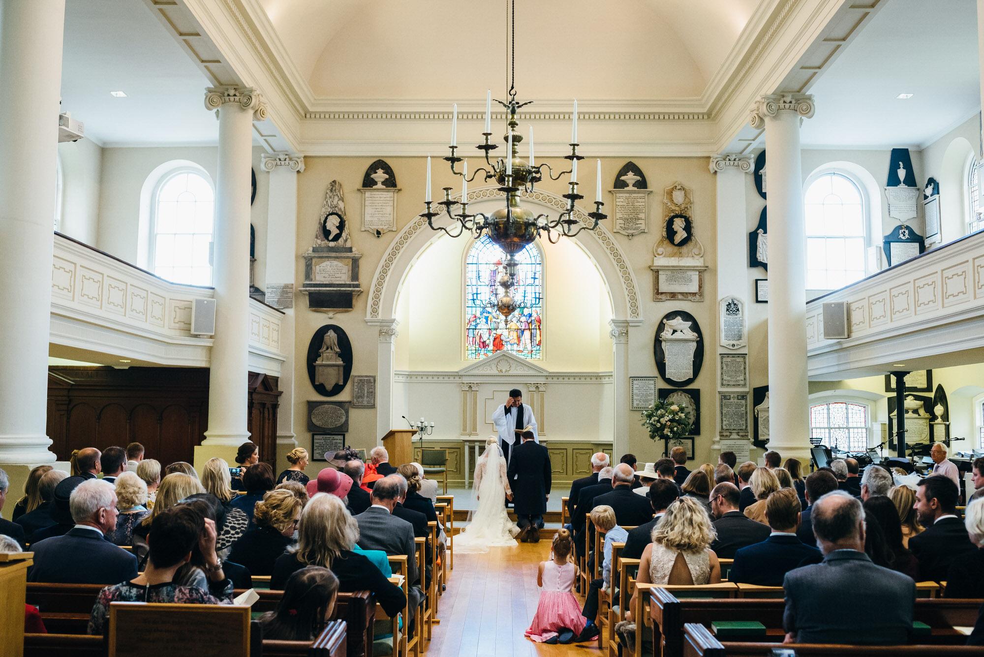 St Swithins Church Bath wedding photographer