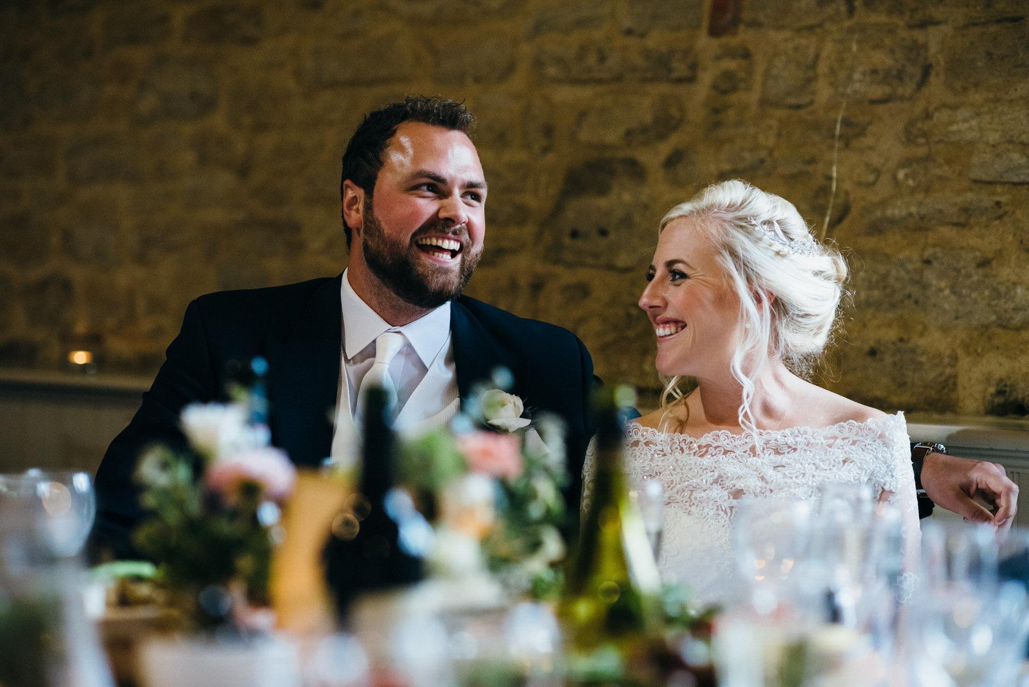 Wick farm wedding couple