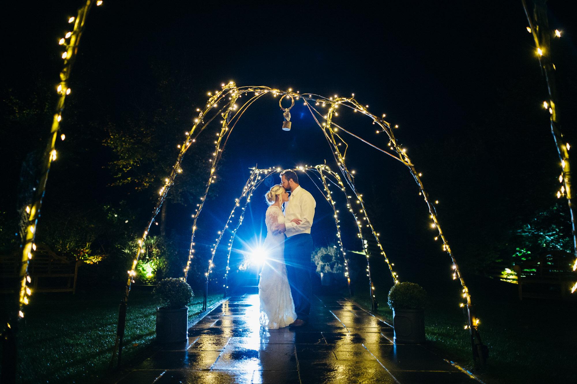 Wick farm wedding portrait