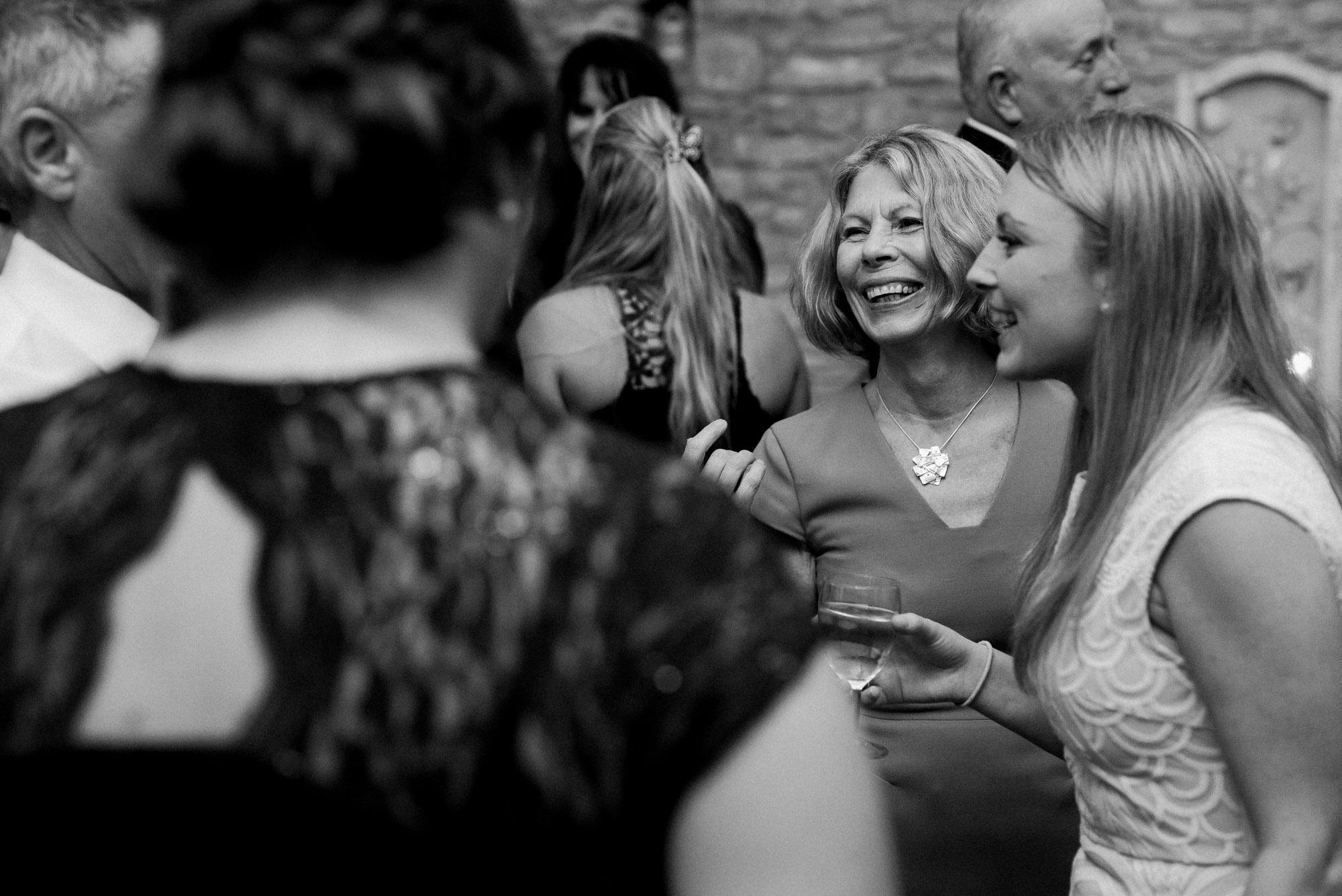 Wick farm wedding party