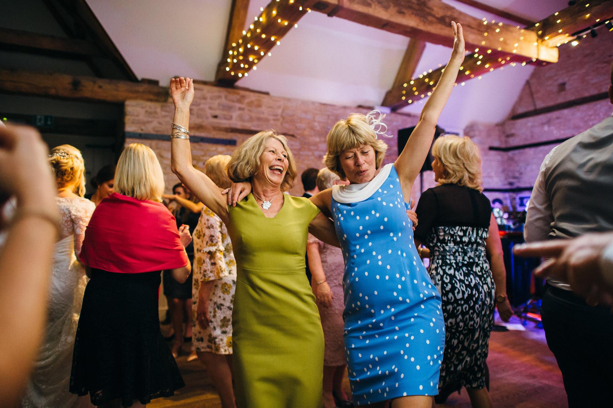 Wick farm wedding dancing