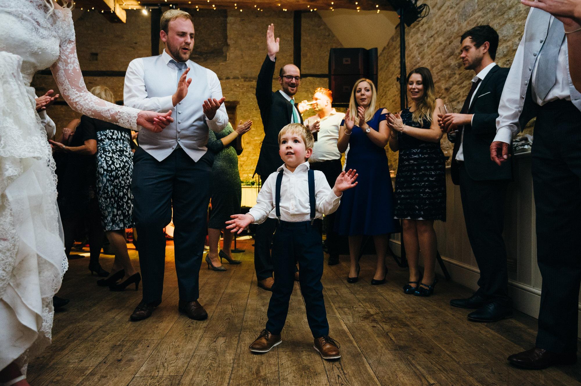 Wick farm wedding dance floor