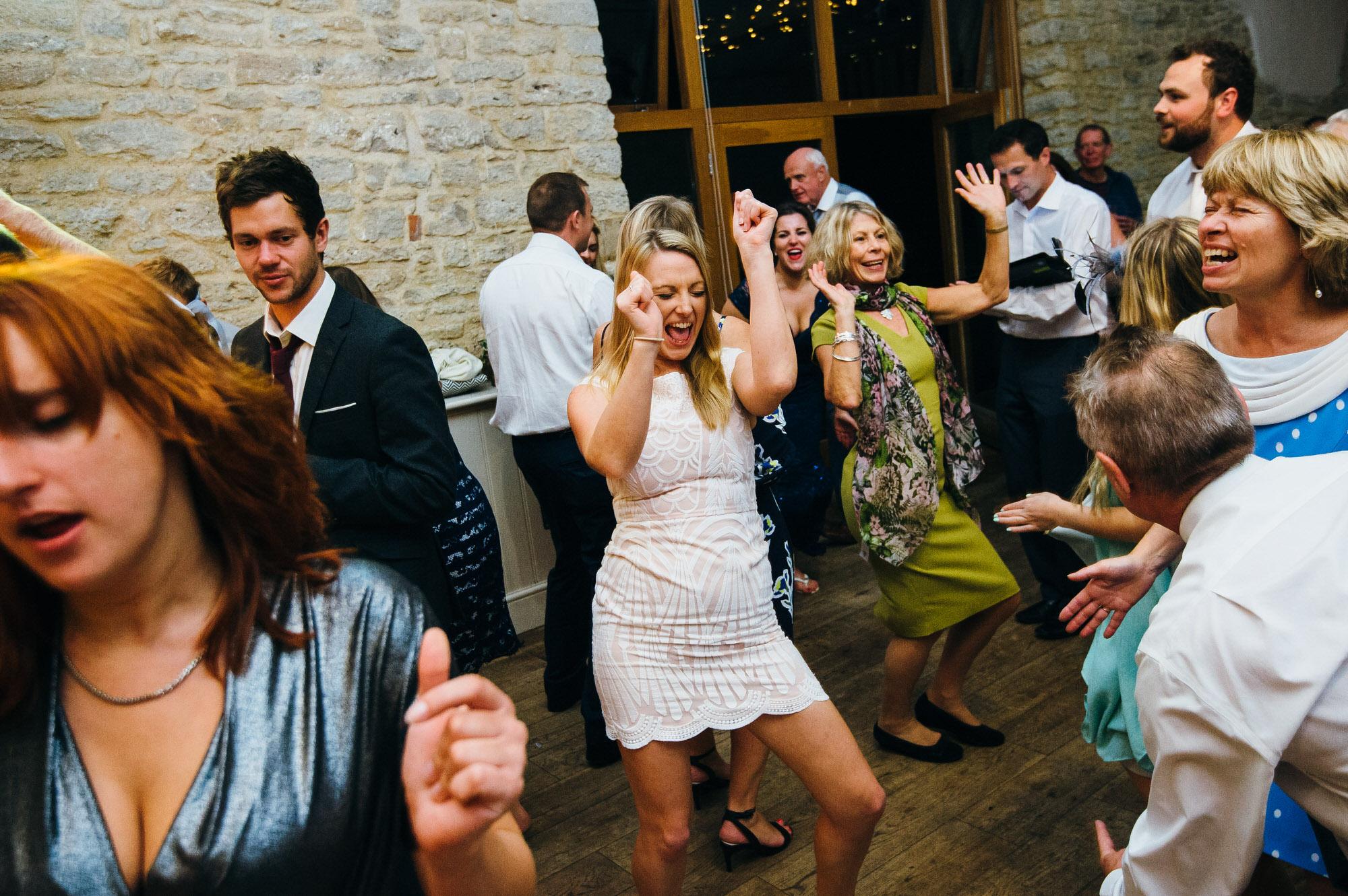 Wick farm wedding celebrations