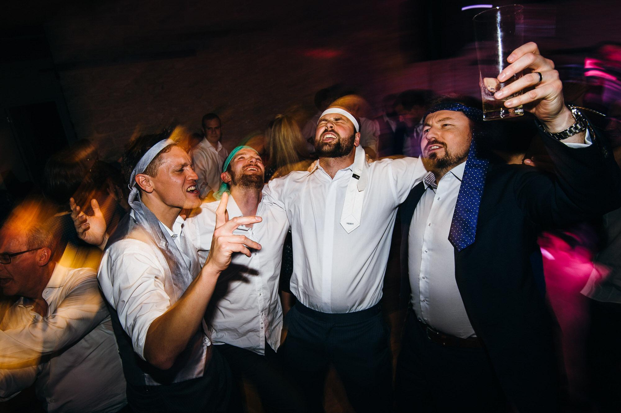 Wick farm wedding partytime