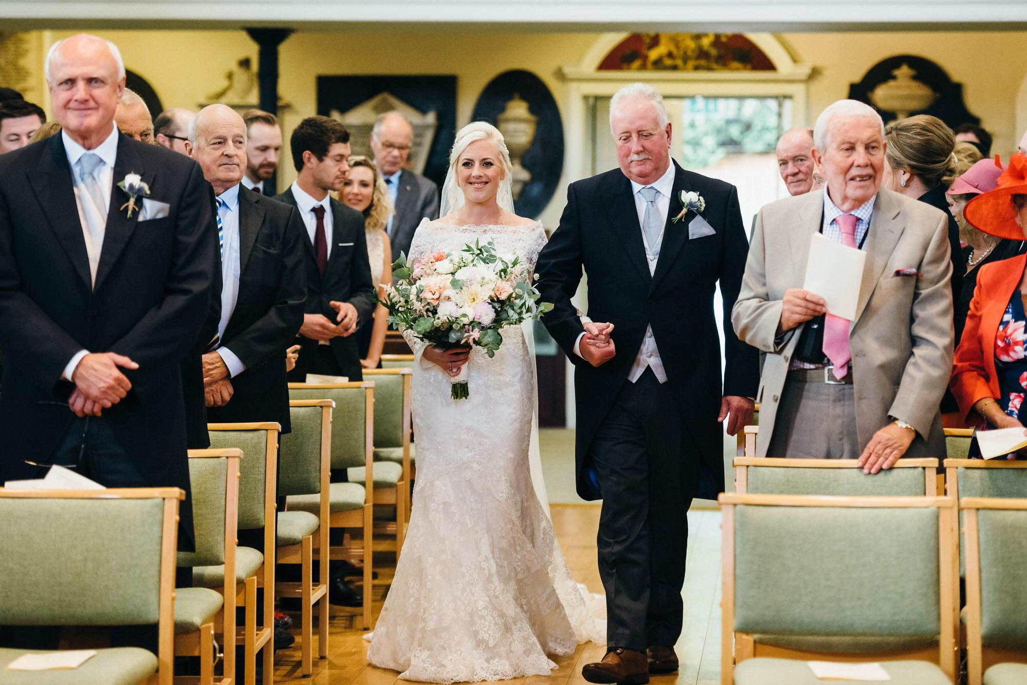 St Swithins Church wedding