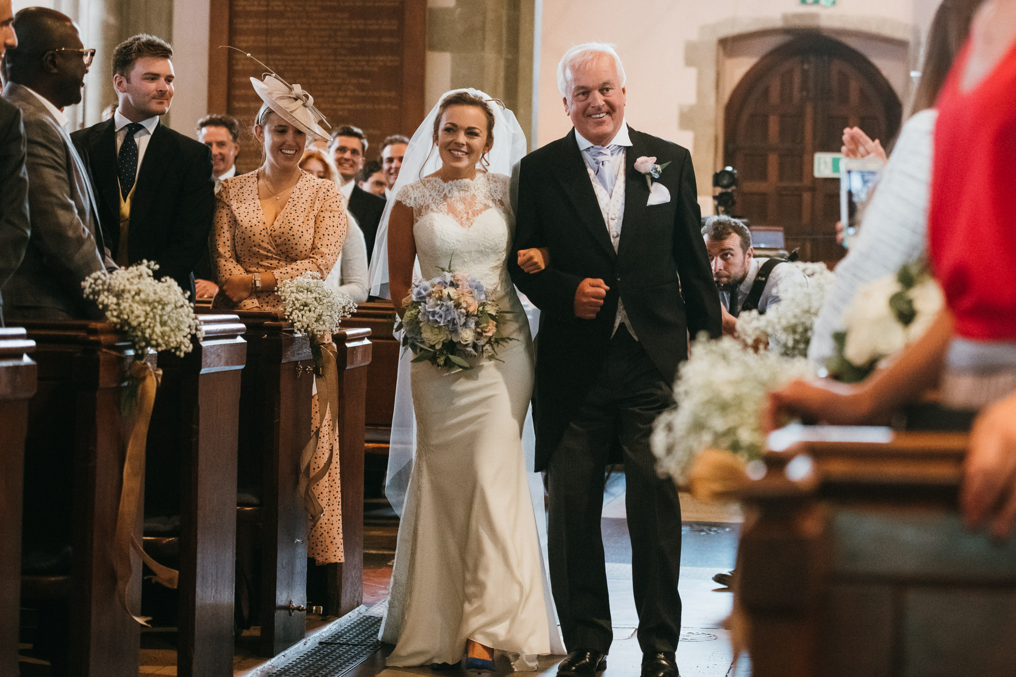 St Mary the Virgin Church wedding