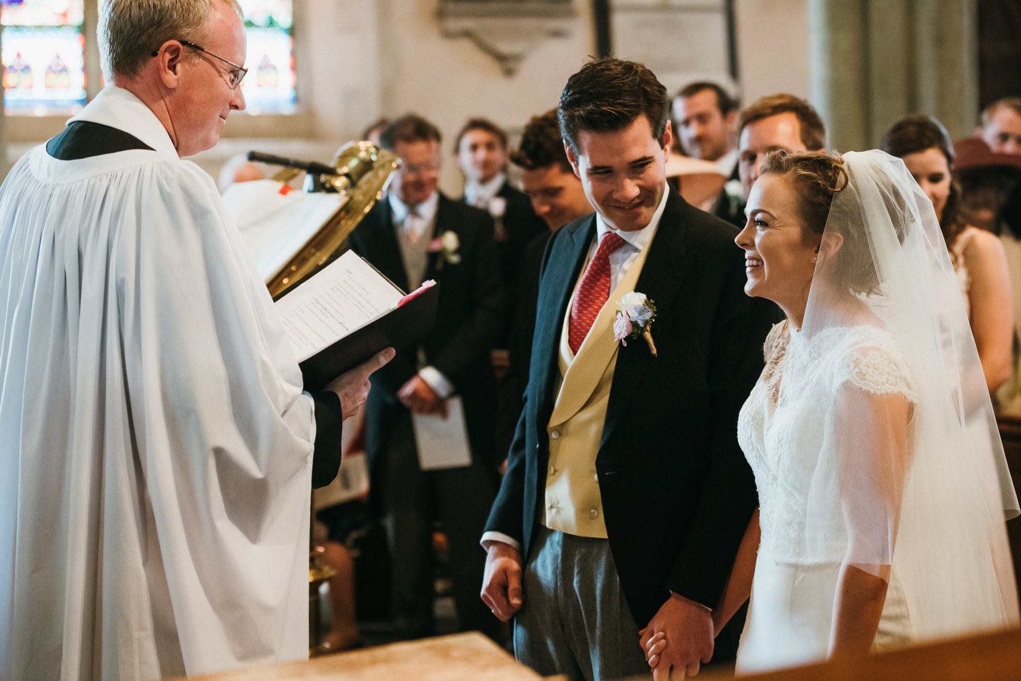 St Mary the Virgin Church wedding photography