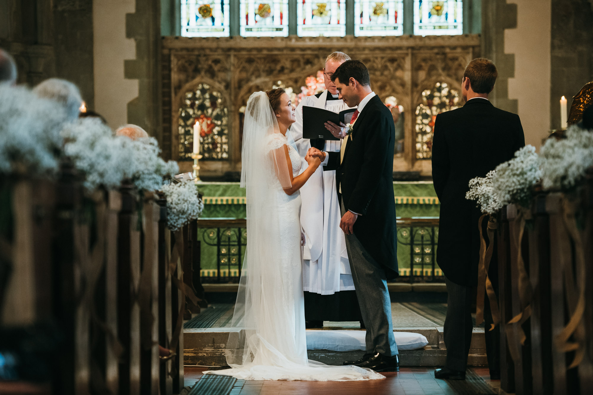 wedding at St Mary the Virgin Church westerham