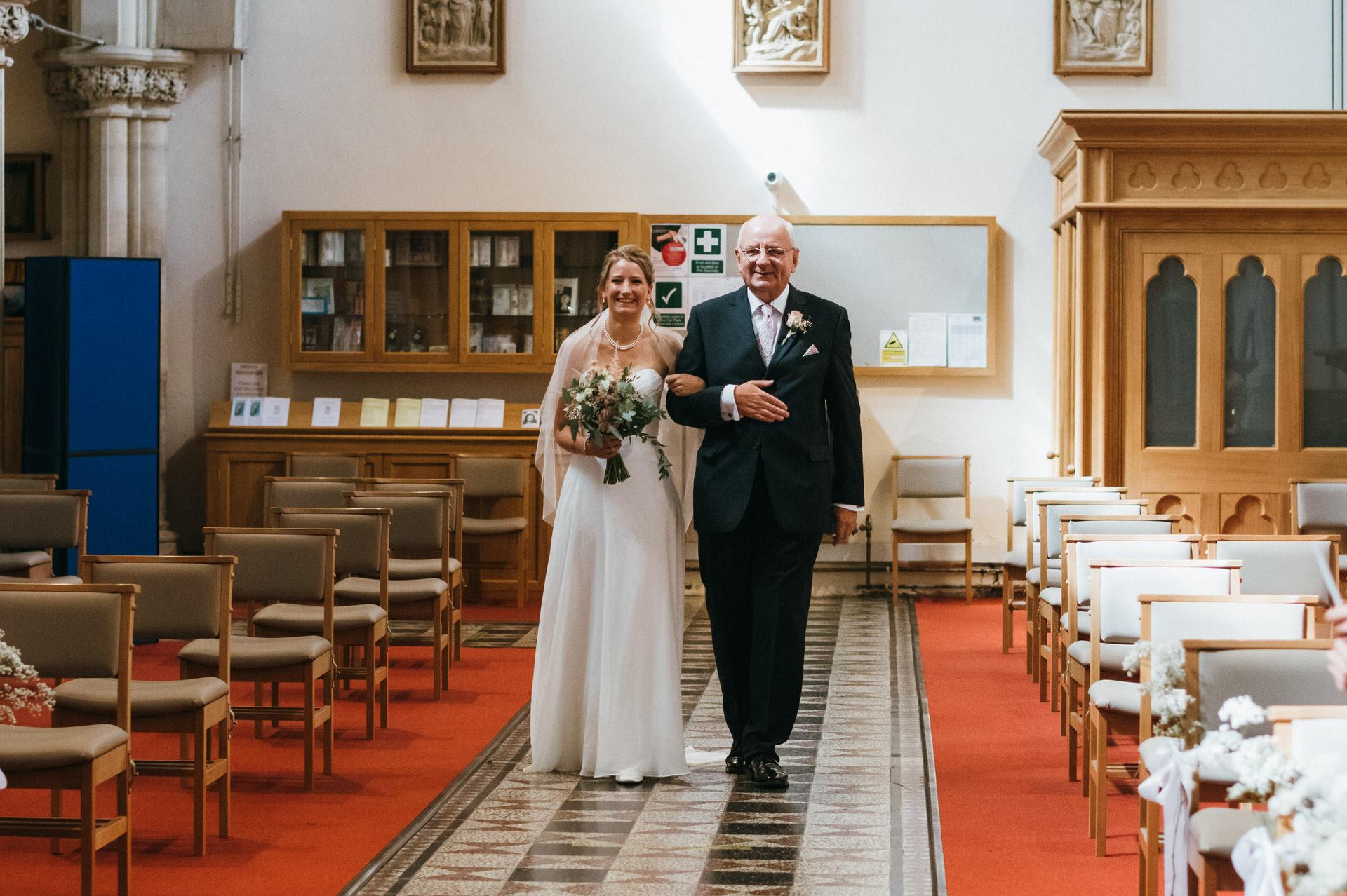 Micro church wedding photography