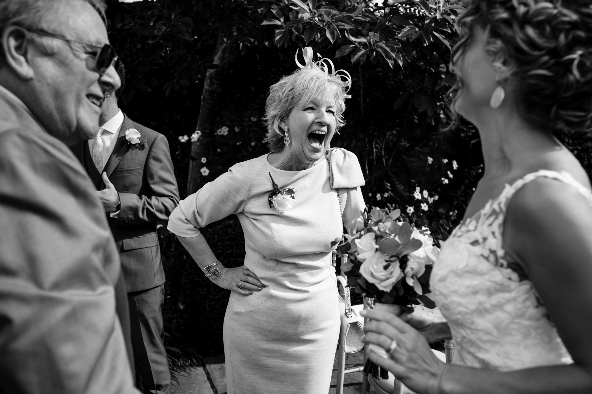 Guests at Royal crescent wedding