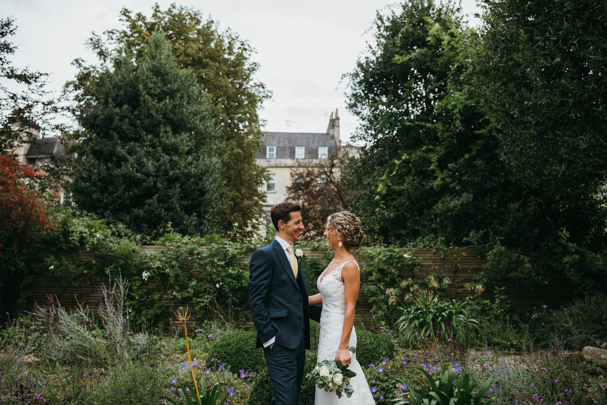 newlyweds Royal crescent bath