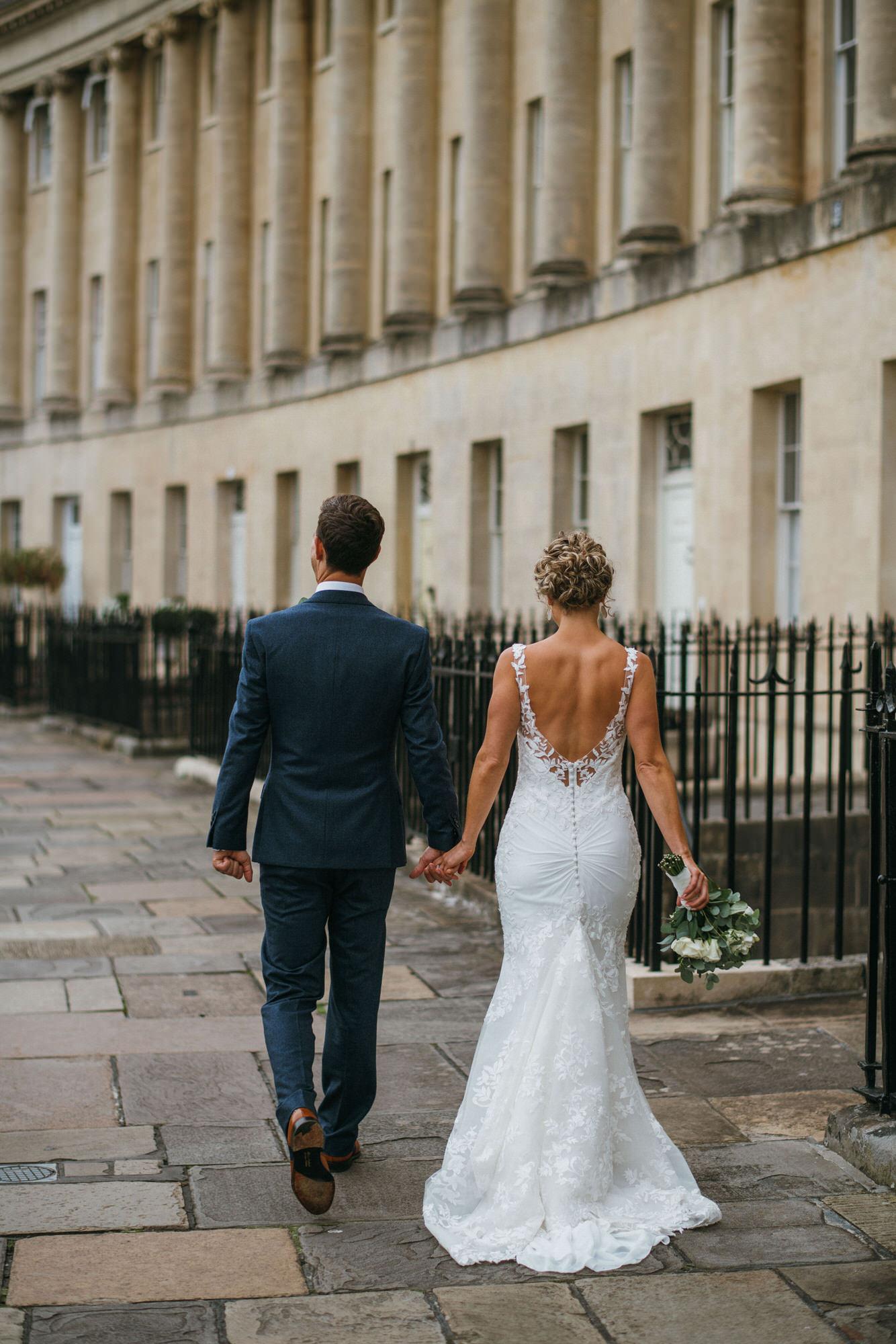 newlyweds a royal crescent bath