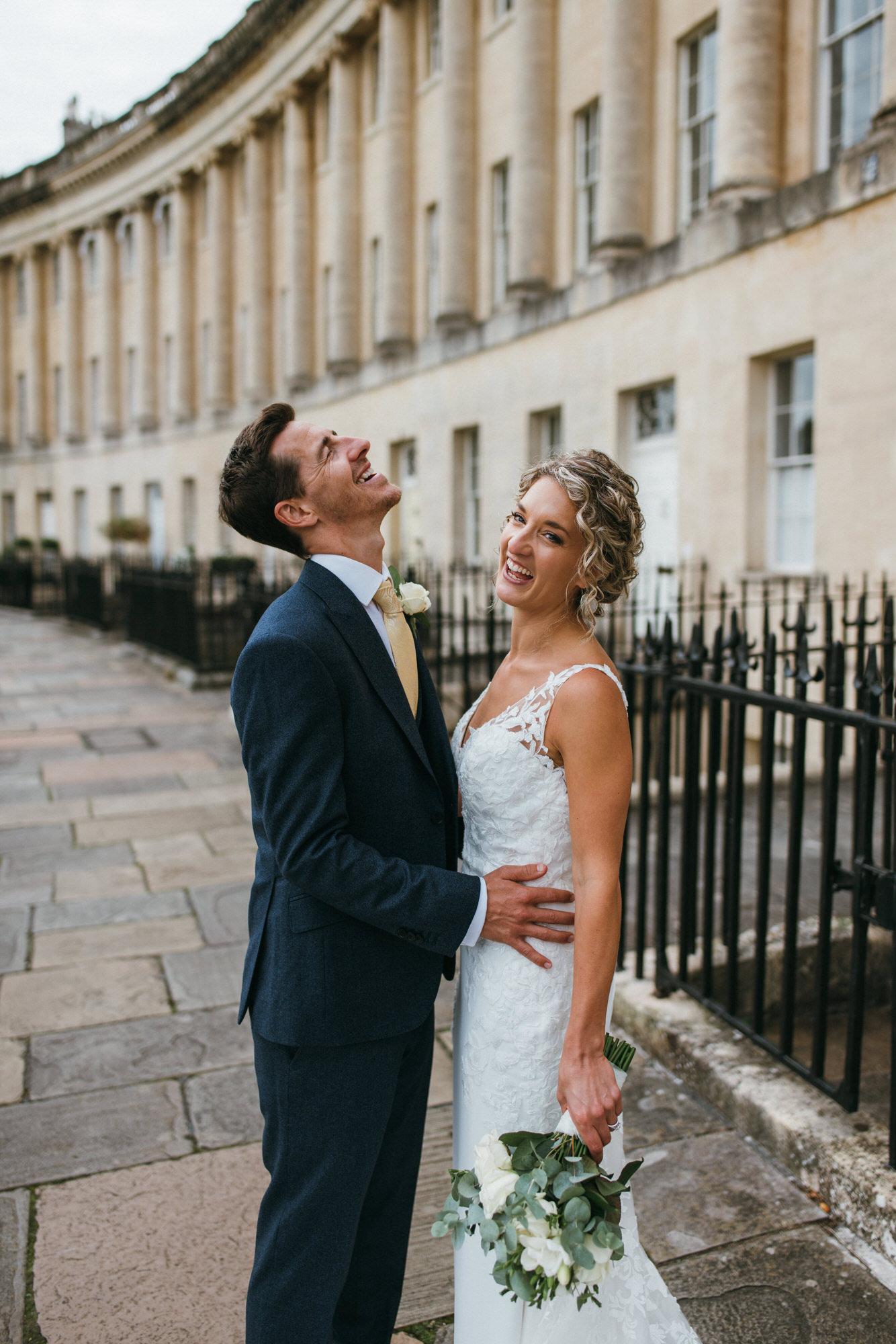 Wedding at Royal crescent Hotel