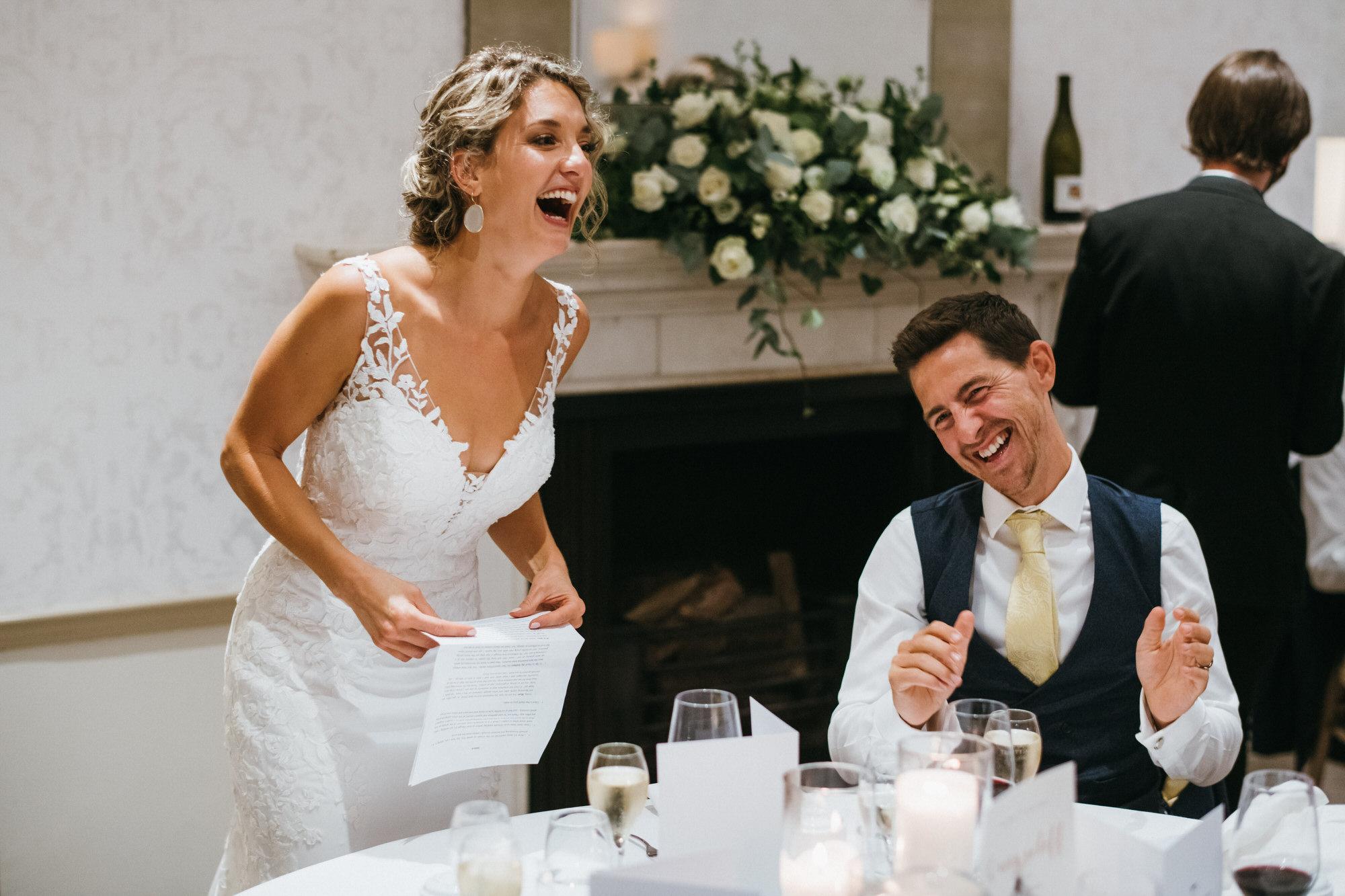 Royal crescent wedding speeches
