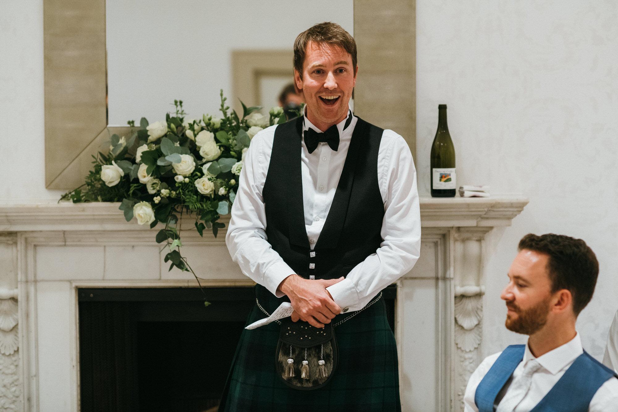 Royal crescent wedding best man speech
