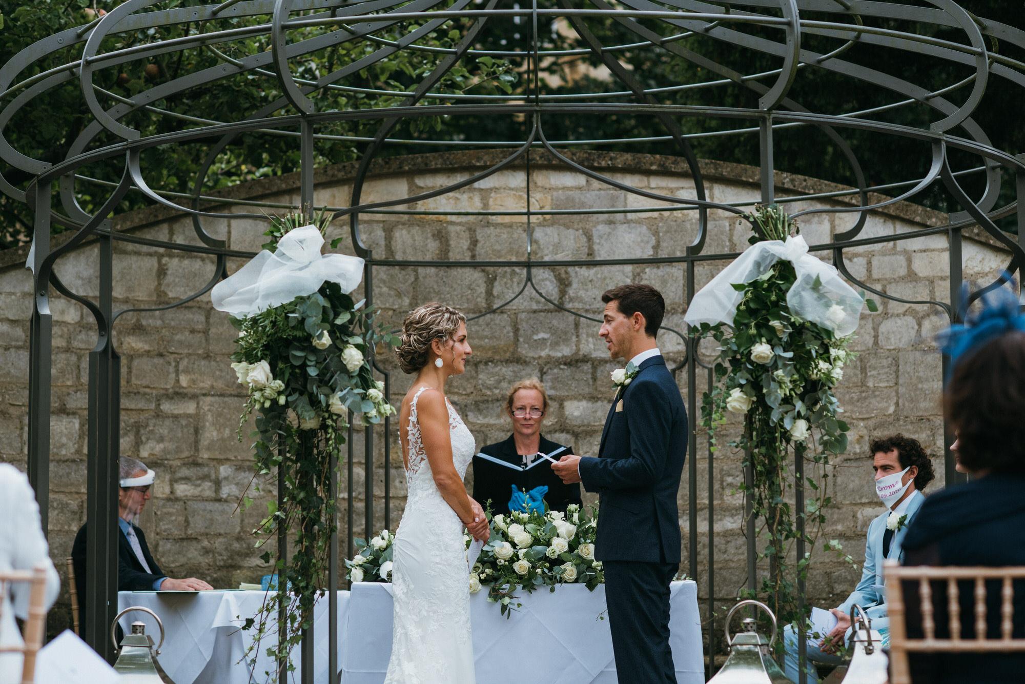 Royal crescent hotel wedding outdoor
