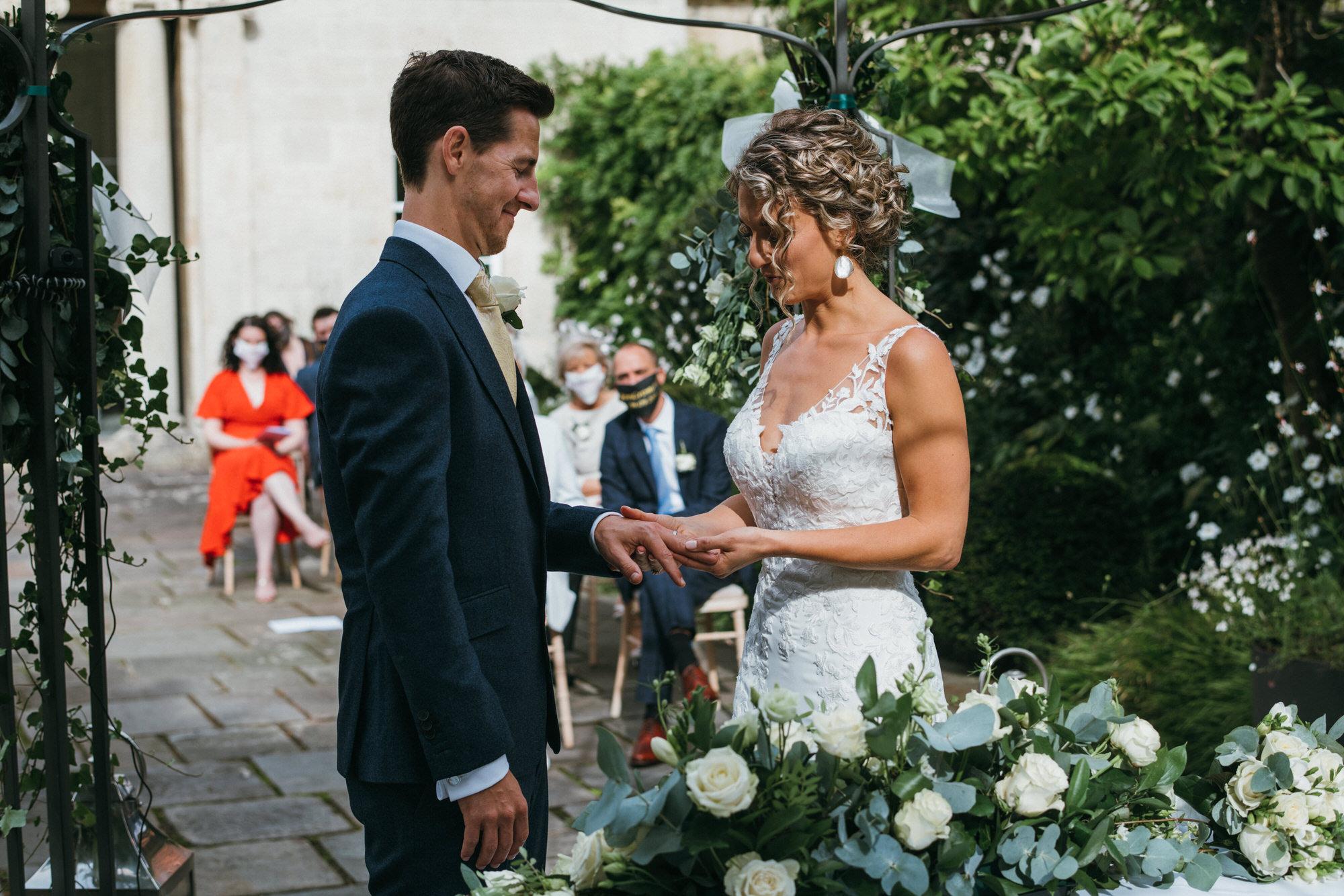 Royal crescent wedding ceremony