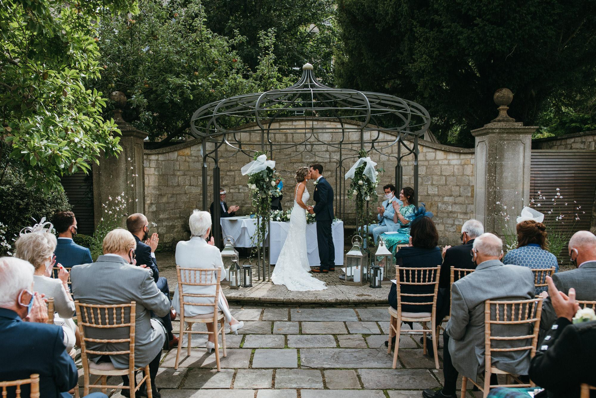 Royal crescent hotel wedding ceremony