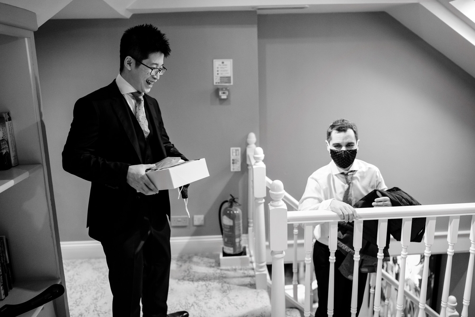 Homewood wedding preparations