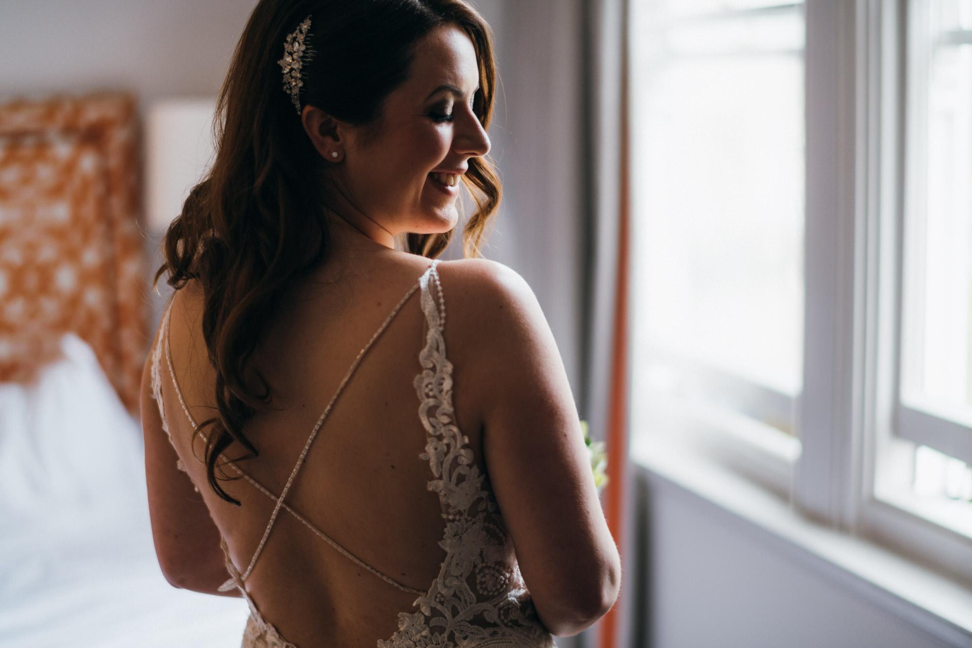 Black tie intimate wedding royal crescent 10