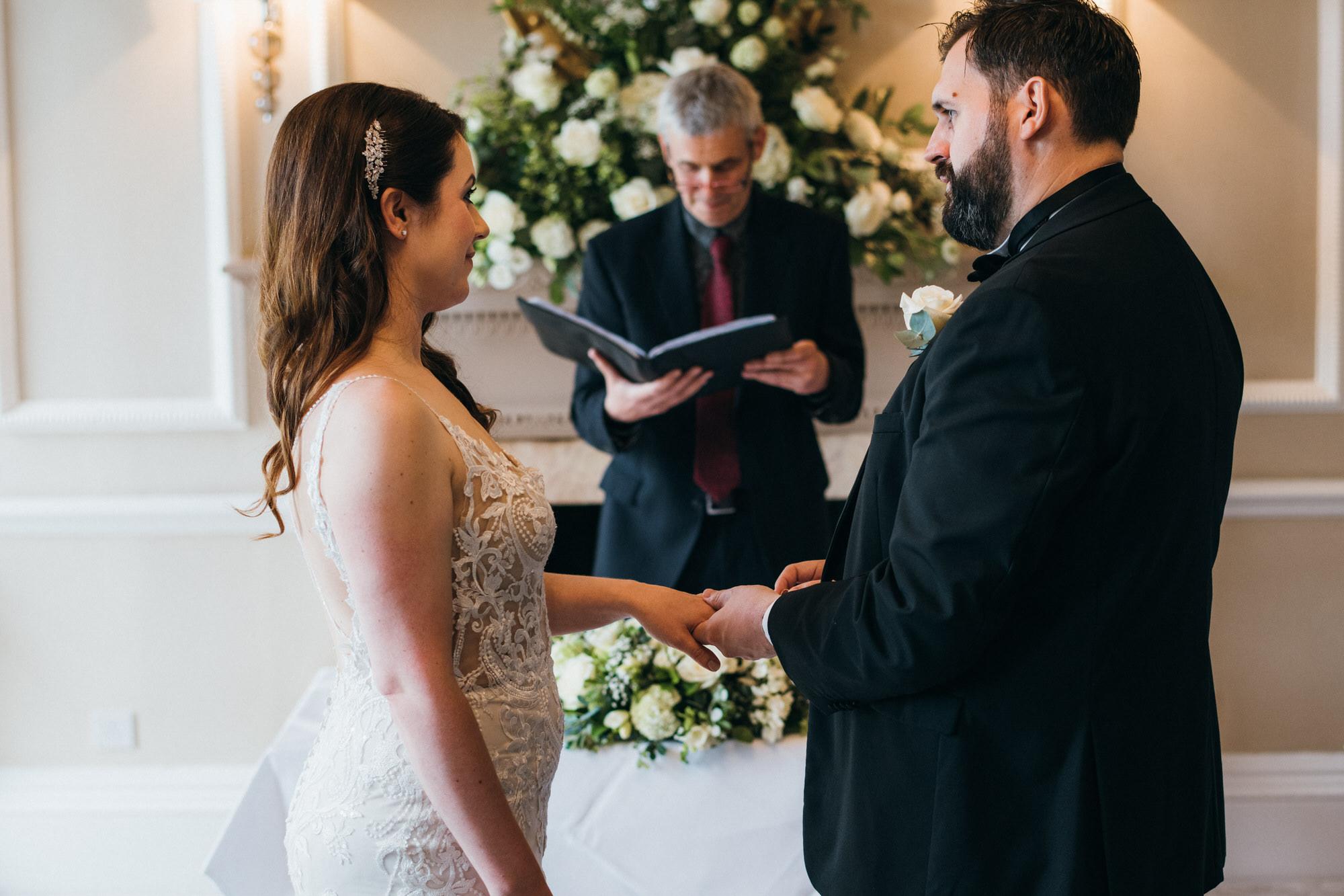 Black tie intimate wedding royal crescent 16