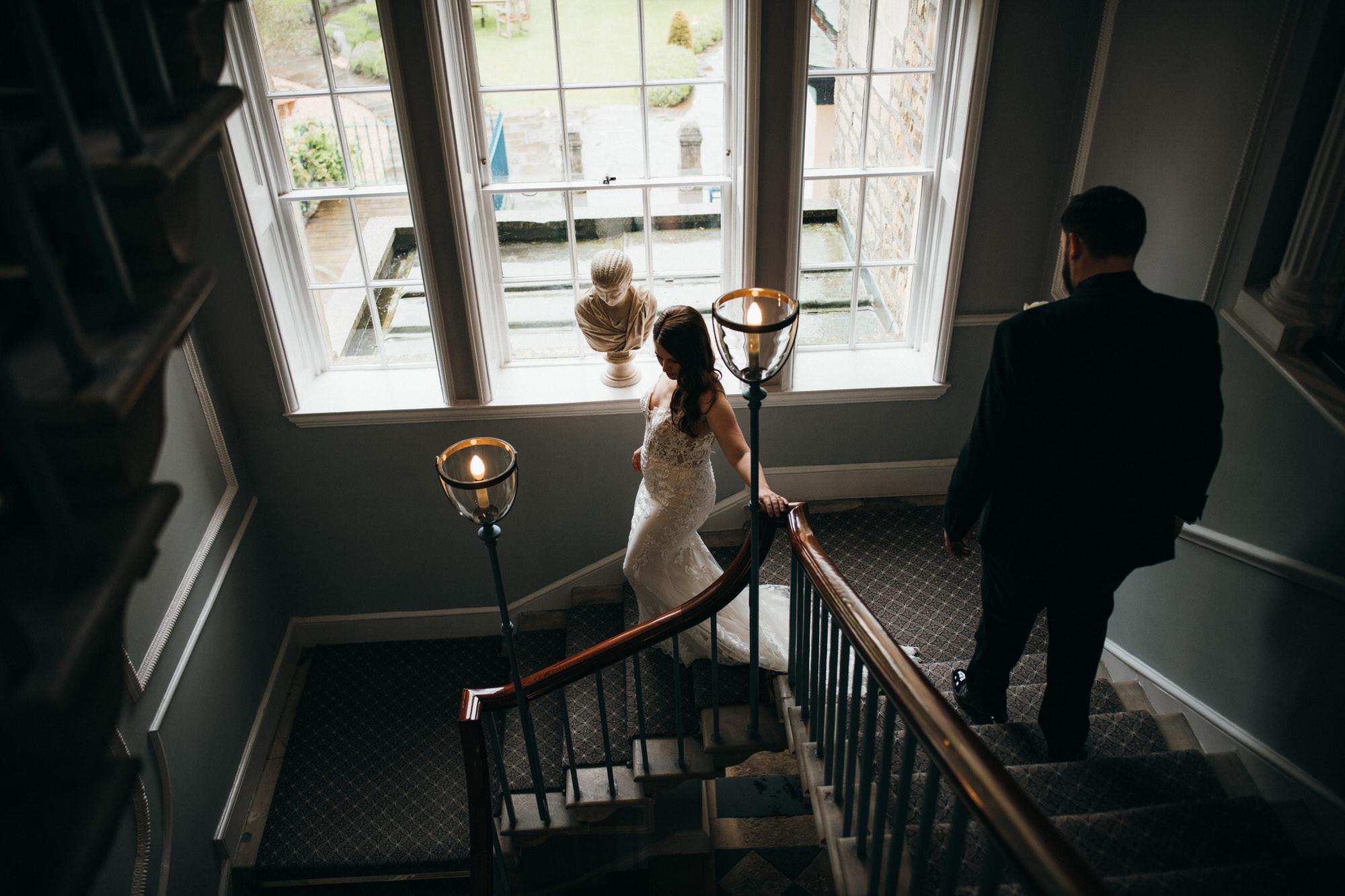 Black tie intimate wedding royal crescent 20