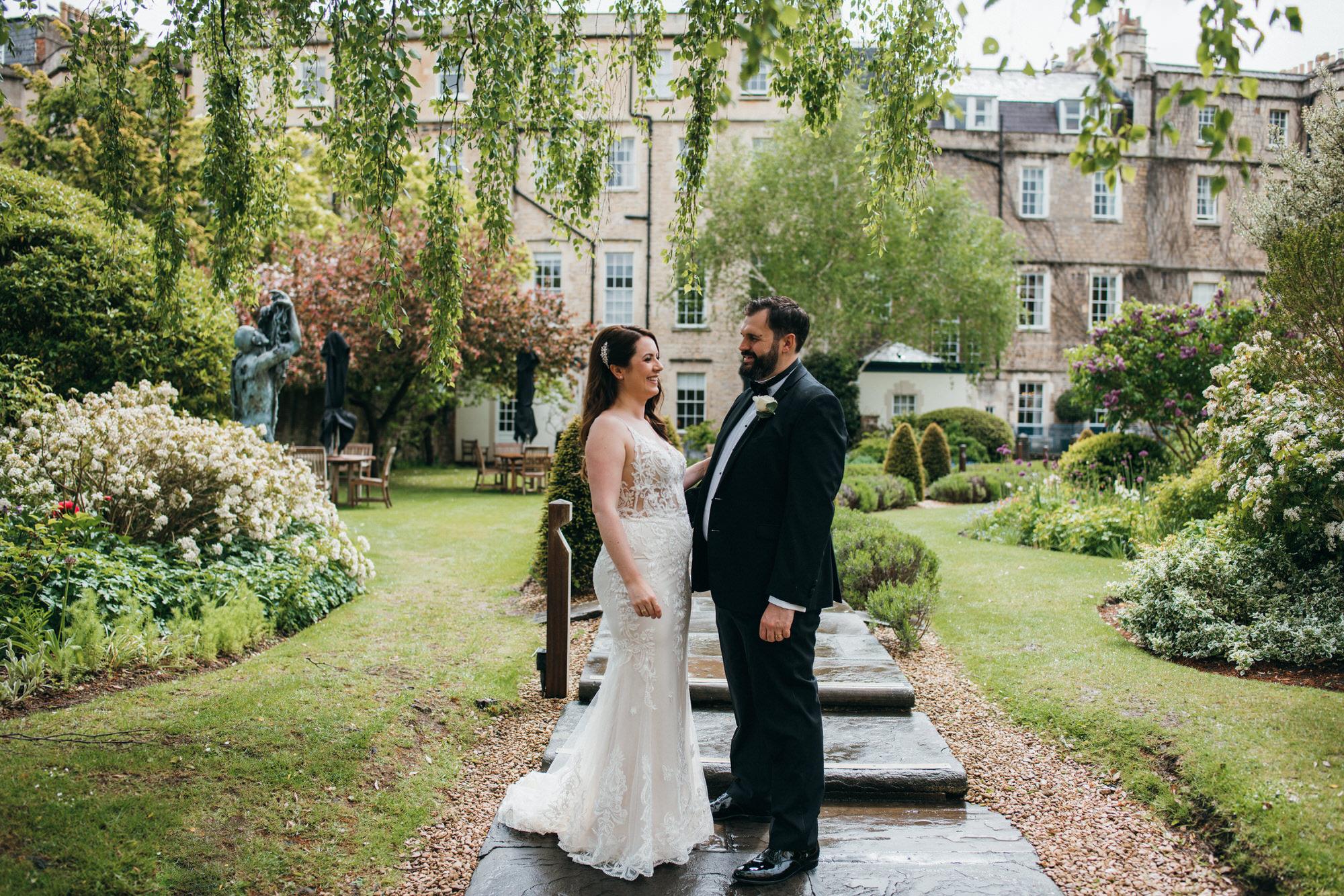 Black tie intimate wedding royal crescent 23