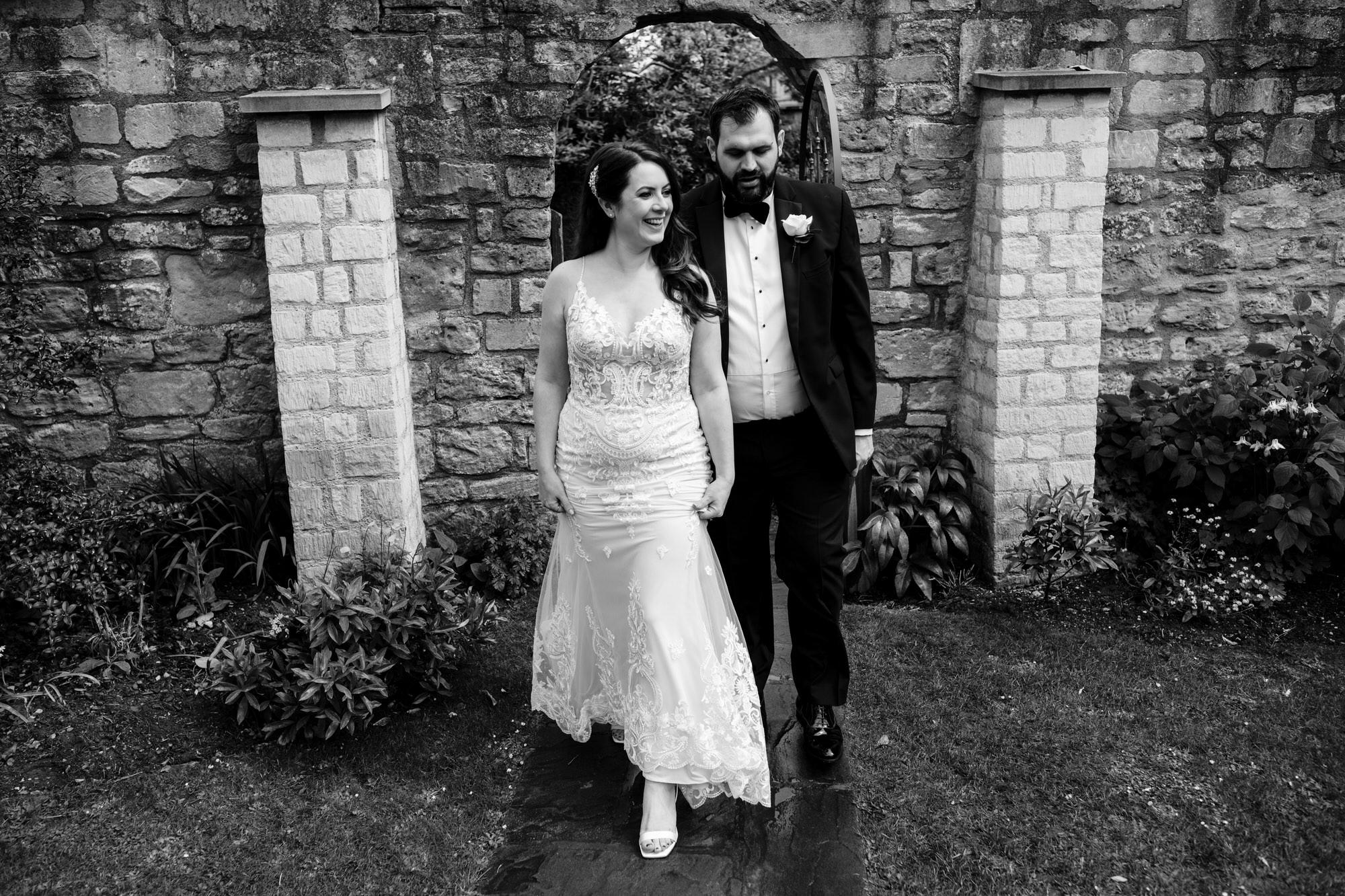 Black tie intimate wedding royal crescent 27