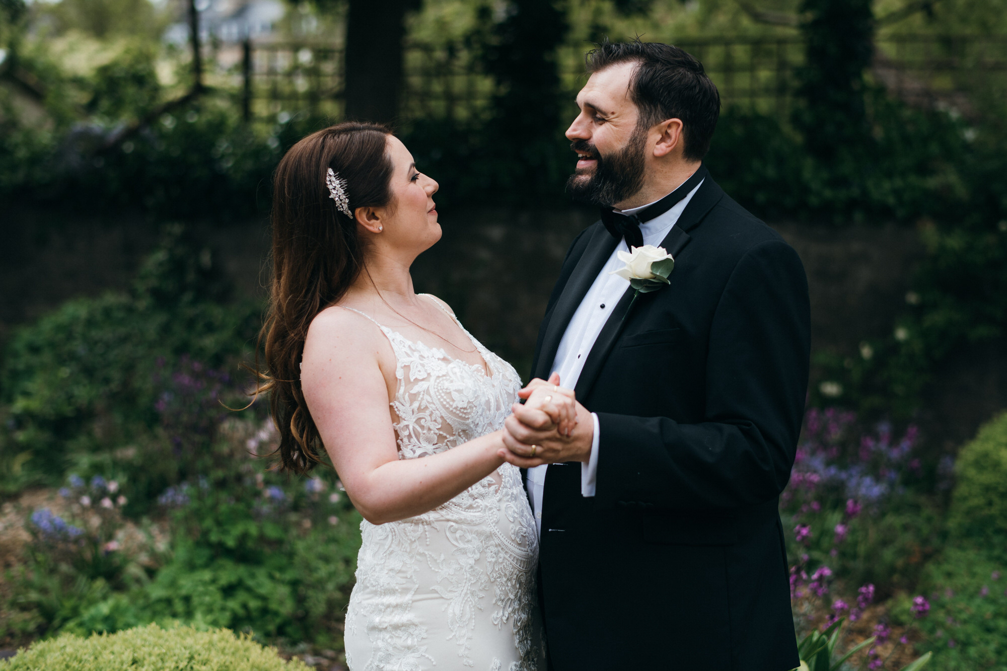 Black tie intimate wedding royal crescent 29