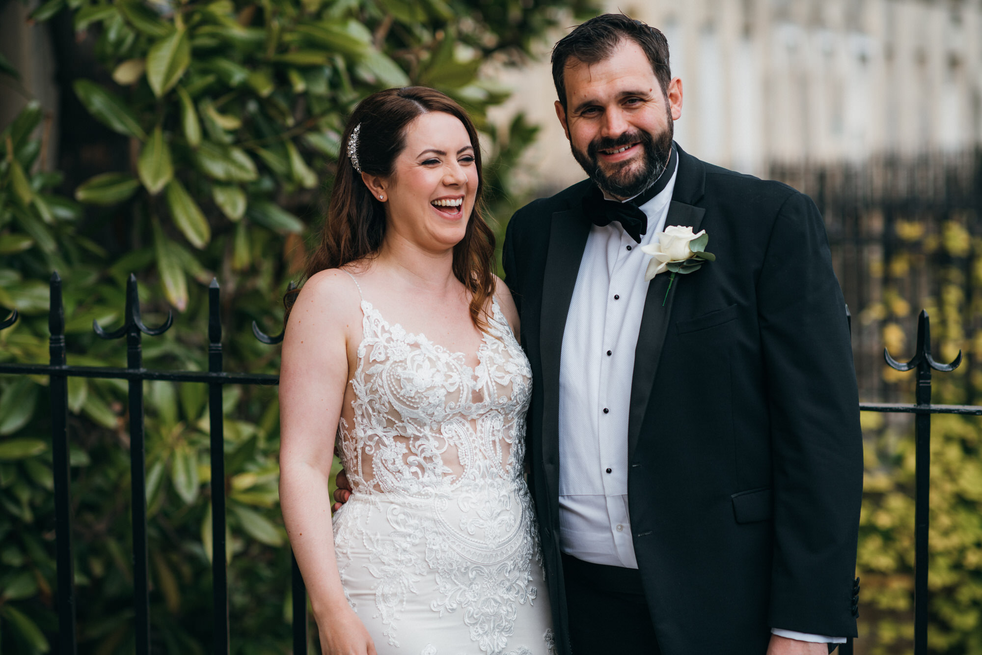 Black tie intimate wedding royal crescent 34