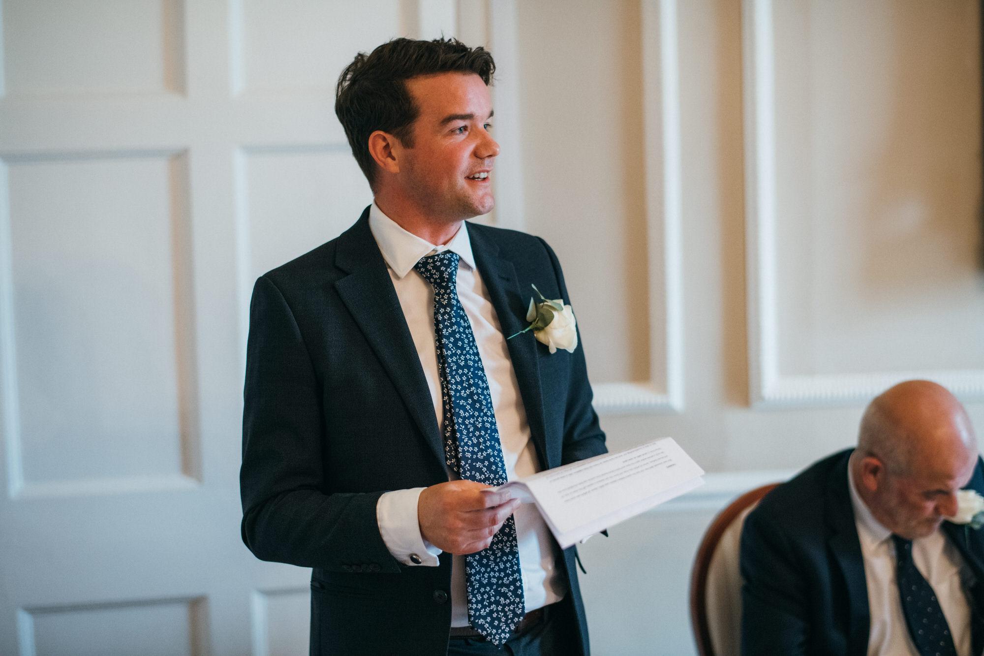 Black tie intimate wedding royal crescent 48