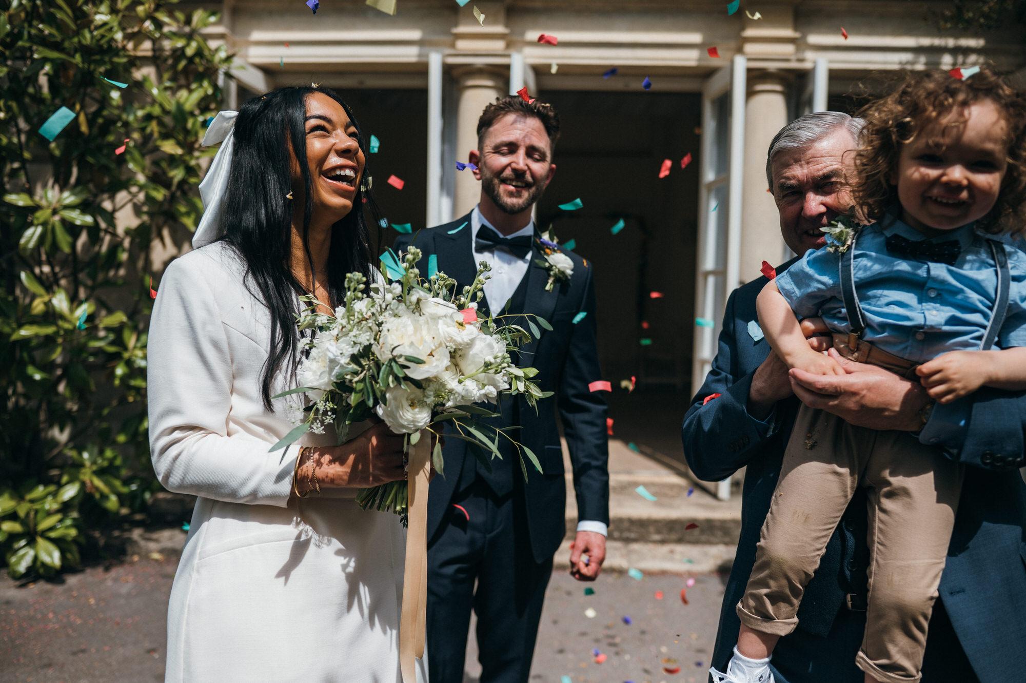 Intimate wedding botanical gardens bath 15