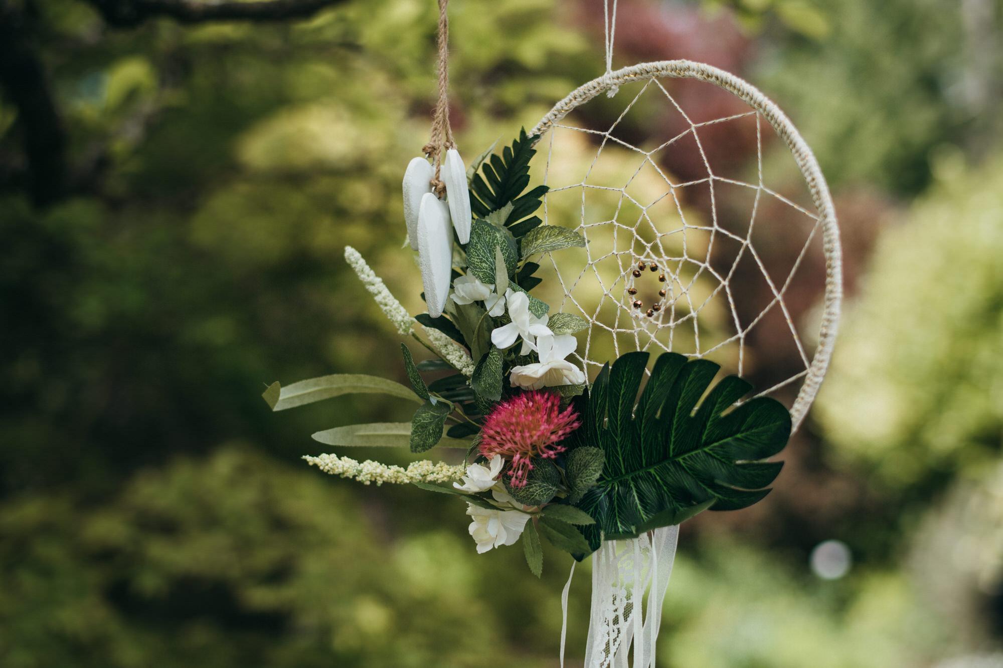 Intimate wedding botanical gardens bath 2