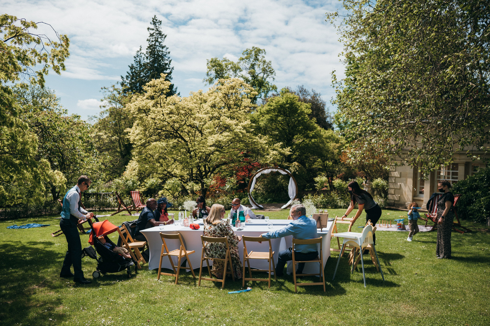 Intimate wedding botanical gardens bath 21